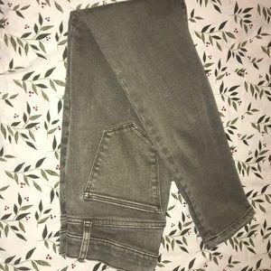 Rustic skinny jeans